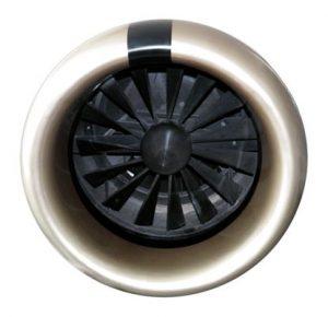 Caso de estudio JCR 1000 - Modelo a escala real de turbina de avión