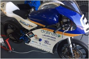 JCR 1000 - Caso de estudio - Moto eléctrica de competición -EUPLA Racing Team