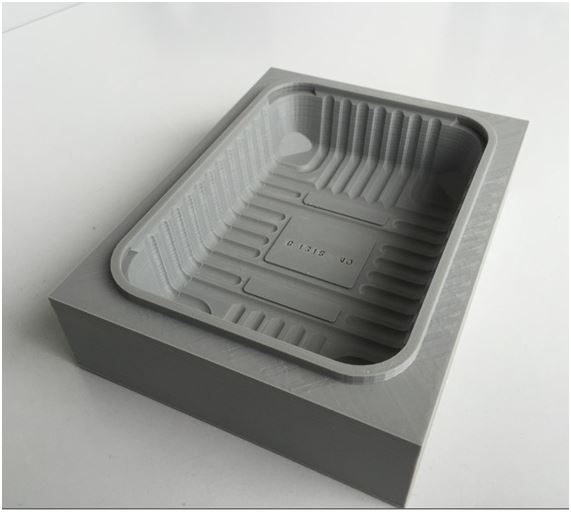 Jcr 1000 - Case Study - The Manufacture of a Thermoforming Mould using 3D printing
